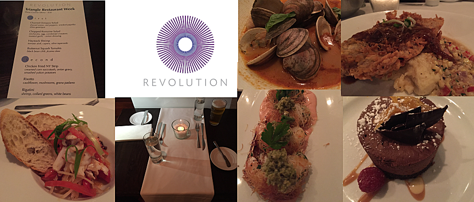Restaurant Week 2015 Revolution Durham Nc Triangle Street Eats